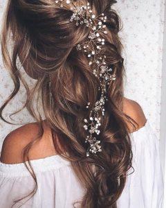 Elegant Bridal Hairdos For Ombre Hair