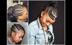 Feed-in Braids Hairstyles