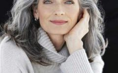Long Hairstyles For Gray Hair