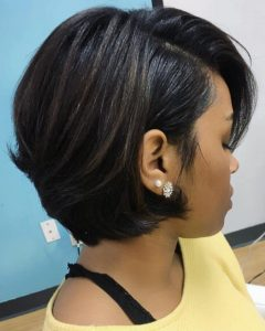 Medium Haircuts For Black Women With Thick Hair
