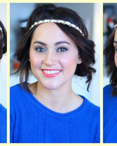 Medium Haircuts With Headbands