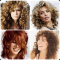 Medium Shaggy Hairstyles for Curly Hair