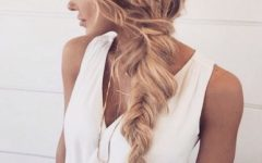 Messy Volumized Fishtail Hairstyles
