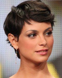 Morena Pixie Haircuts With Bangs