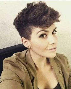 Thick Hair Pixie Haircuts