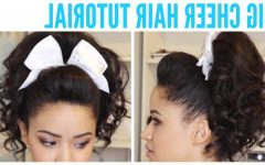 Updo Ponytail Hairstyles with Poof