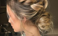 Modern Updo Hairstyles for Wedding