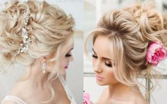Wedding Hairstyles for Medium Length with Blonde Hair