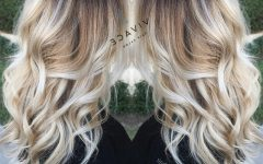 White Blonde Hairstyles for Brown Base