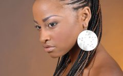 Black Twisted Mohawk Braid Hairstyles