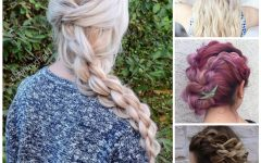 Casual Rope Braid Hairstyles