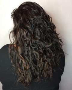 Long Curly Layers Hairstyles