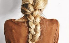 Defined French Braid Hairstyles
