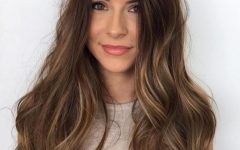 Long Wavy Hairstyles with a Messy Touch