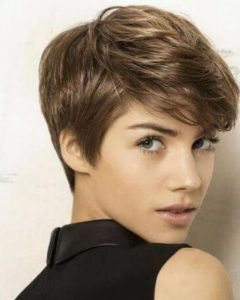 Pixie Haircuts With Fringe