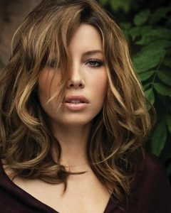 Jessica Biel Shoulder Length Bob Hairstyles