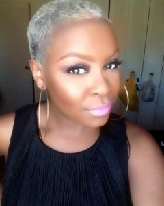Short Hairstyles For Black Women With Gray Hair