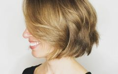 Layered Chin-length Haircuts