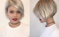 Ash Blonde Short Hairstyles