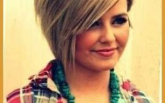 Short Hairstyles For Heavy Round Faces