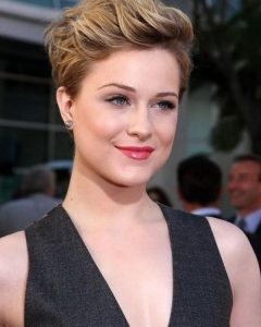Short Hairstyles Swept Off The Face