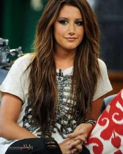 Long Brown Hairstyles With Highlights