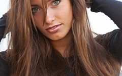 Long Hairstyles Dark Brown