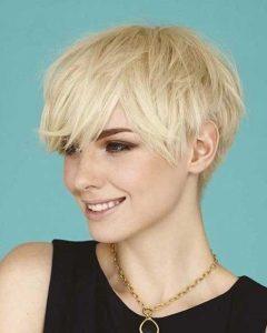 Short Layered Pixie Haircuts