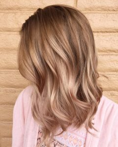 Brown and Dark Blonde Layers Hairstyles
