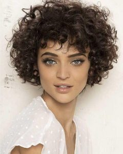 Curly Hair Short Hairstyles