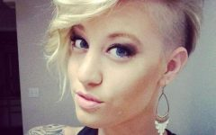 Short Hairstyles With Shaved Sides For Women