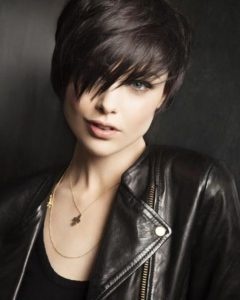Edgy Short Hairstyles For Round Faces