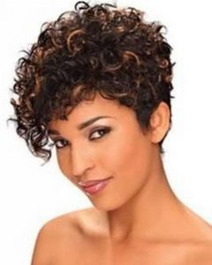 Short Hairstyles For Very Curly Hair