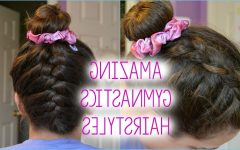 Braided Gymnastics Hairstyles