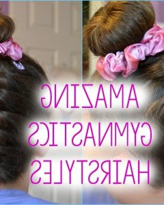 Braided Gymnastics Hairstyles