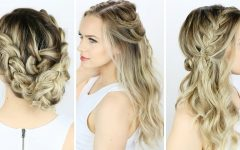Do It Yourself Wedding Hairstyles for Medium Length Hair