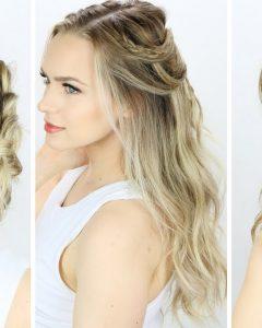 Cute Easy Wedding Hairstyles For Long Hair