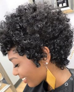 Medium Hairstyles For Black Women With Gray Hair