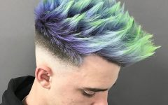 Unique Color Mohawk Hairstyles