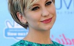 Pictures of Short Hairstyles for Round Faces