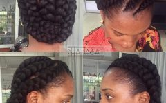Elegant Cornrows Hairstyles