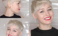 Cute Shaped Crop Hairstyles