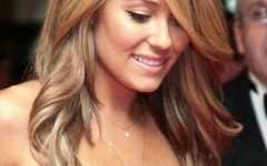 Long Hair with Layers and Side Swept Bangs