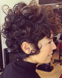 Curly Q Haircuts