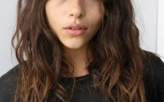 Cute Bangs and Messy Texture Hairstyles