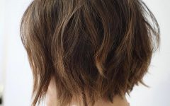 Messy Choppy Layered Bob Hairstyles