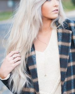 Long Platinum Locks Blonde Hairstyles