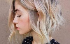 Classic Blonde Bob with a Modern Twist
