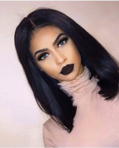 Black Bob Medium Hairstyles