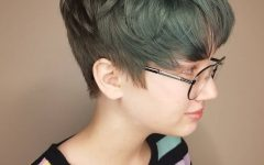 Straight Pixie Hairstyles for Thick Hair